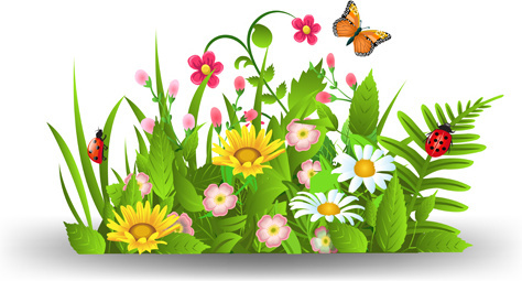 Free clipart for spring flowers clipart royalty free library Spring flowers border clip art free vector download (220,614 Free ... clipart royalty free library