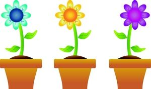 Free clipart images of spring clipart freeuse stock Spring Flowers Border Clipart | Clipart Panda - Free Clipart Images ... clipart freeuse stock