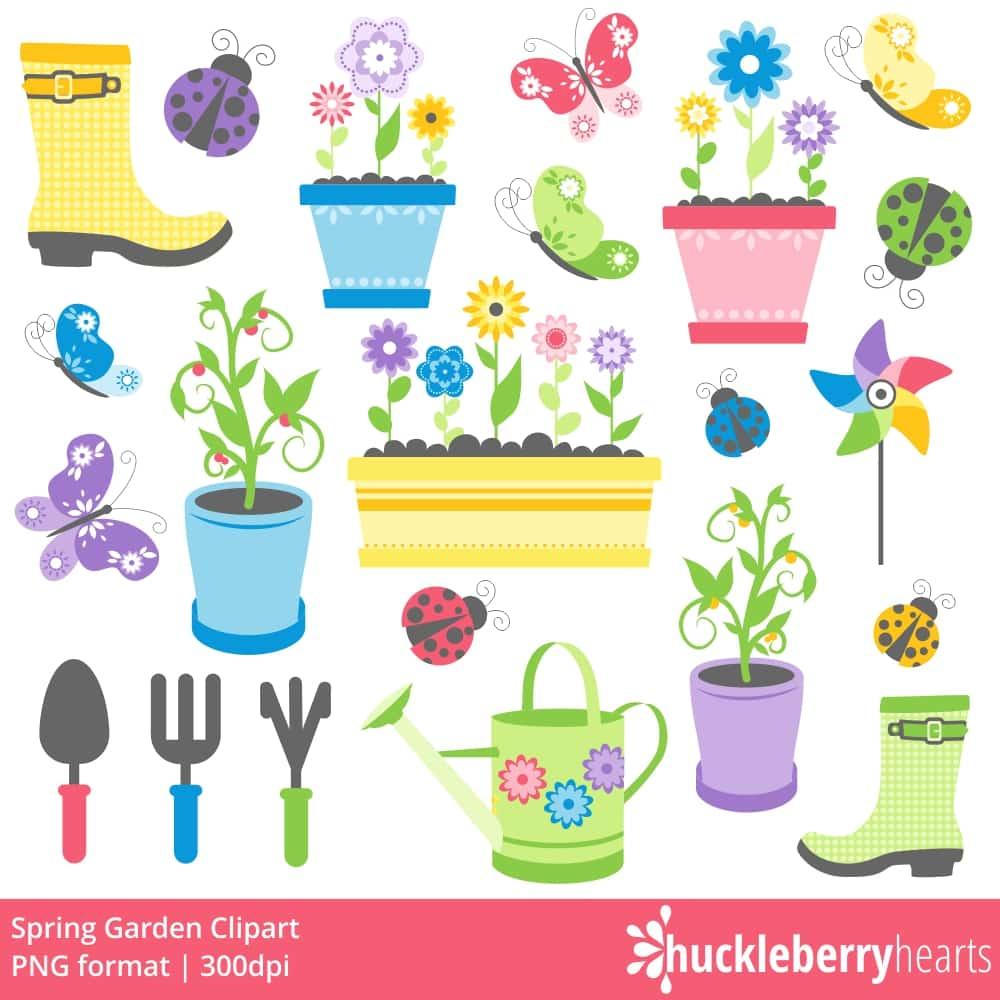 Clipart spring garden clip art transparent download Spring Garden Clipart clip art transparent download