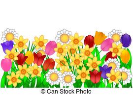 Clipart spring garden vector free library Spring garden Stock Illustrations. 234,153 Spring garden clip art ... vector free library