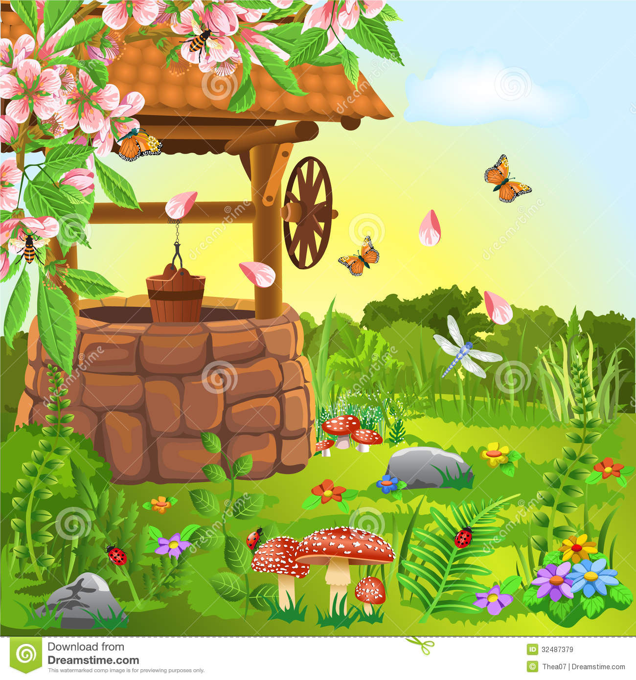 Spring season pictures clipart