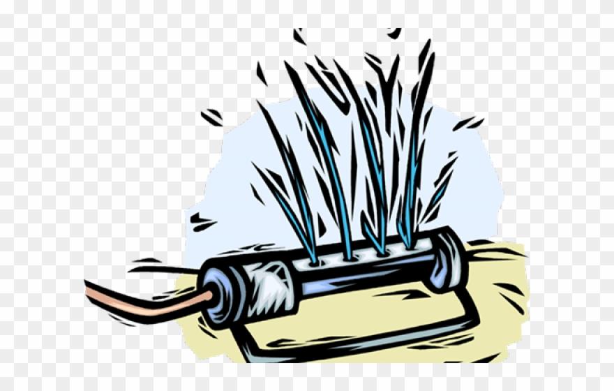 Clipart sprinklers banner download Lawn Clipart Garden Sprinkler - Clipart Sprinkler - Png Download ... banner download