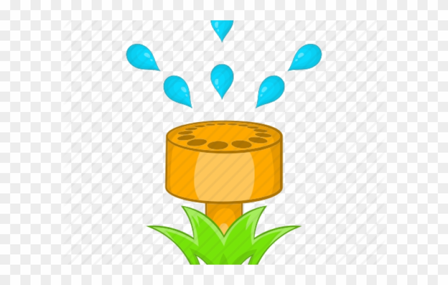 Clipart sprinklers picture free library Sprinkler Cartoon Clipart (#1050663) - PinClipart picture free library