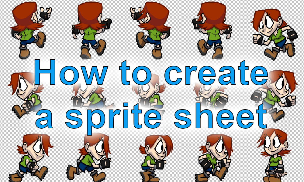 Clipart sprite generator png royalty free stock What is a sprite sheet? - The Movie - Introduction png royalty free stock