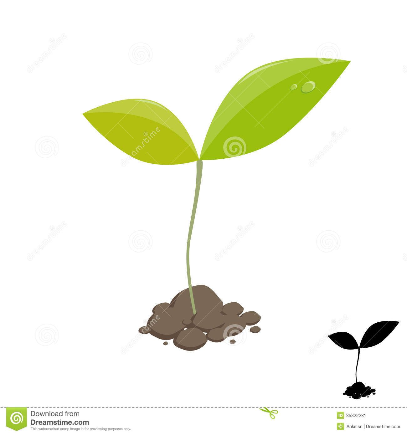 Clipart sprouts picture transparent download Sprouting Seed Clipart Little Plant Sprout Stock - Clipart Kid ... picture transparent download