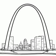 Clipart st louis picture transparent library Free Gateway Arch Cliparts, Download Free Clip Art, Free Clip Art on ... picture transparent library