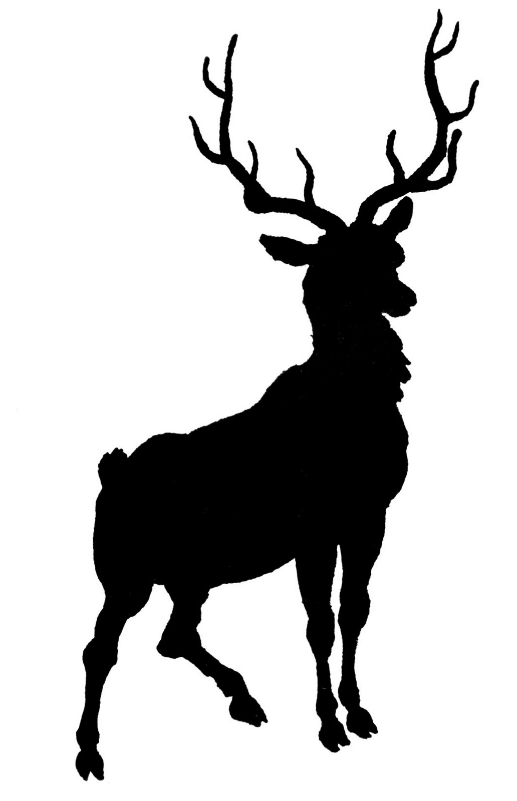 Clipart stag png royalty free download Free Stag Silhouette, Download Free Clip Art, Free Clip Art on ... png royalty free download