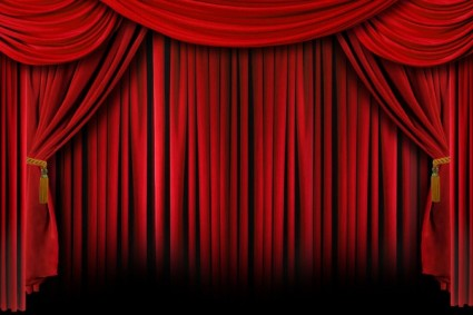 Red theater curtain clipart png library Free Theatre Curtains, Download Free Clip Art, Free Clip Art on ... png library