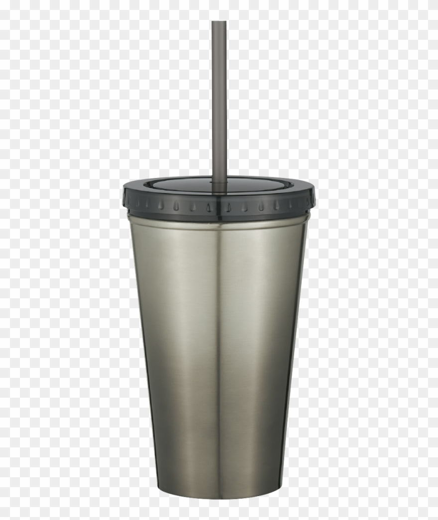Clipart stainless steel graphic royalty free stock Stainless Steel Double Wall Chroma Tumbler With Straw - Tumbler ... graphic royalty free stock