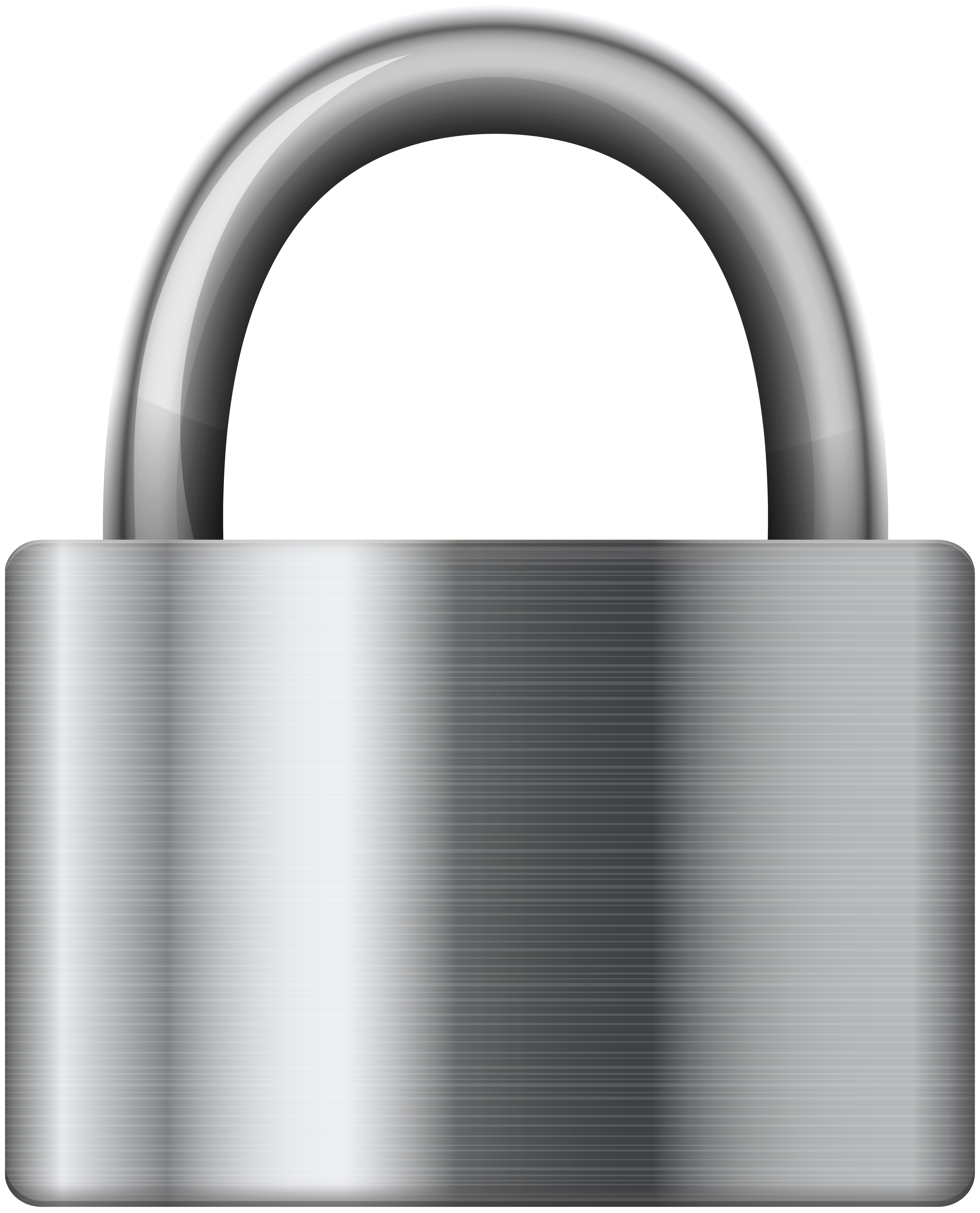 Clipart stainless steel png freeuse Stainless Steel Iron Padlock PNG Clip Art - Best WEB Clipart png freeuse