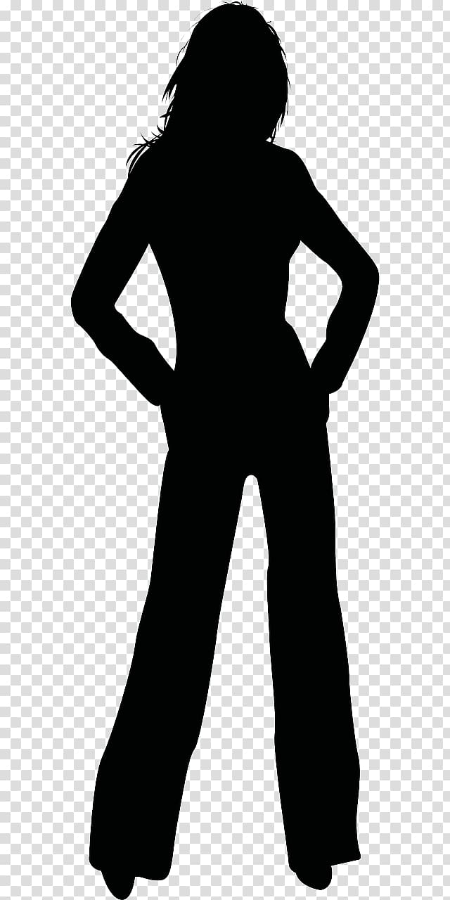 Clipart standing women dress black and white salon image black and white stock Silhouette Woman , female leg transparent background PNG clipart ... image black and white stock