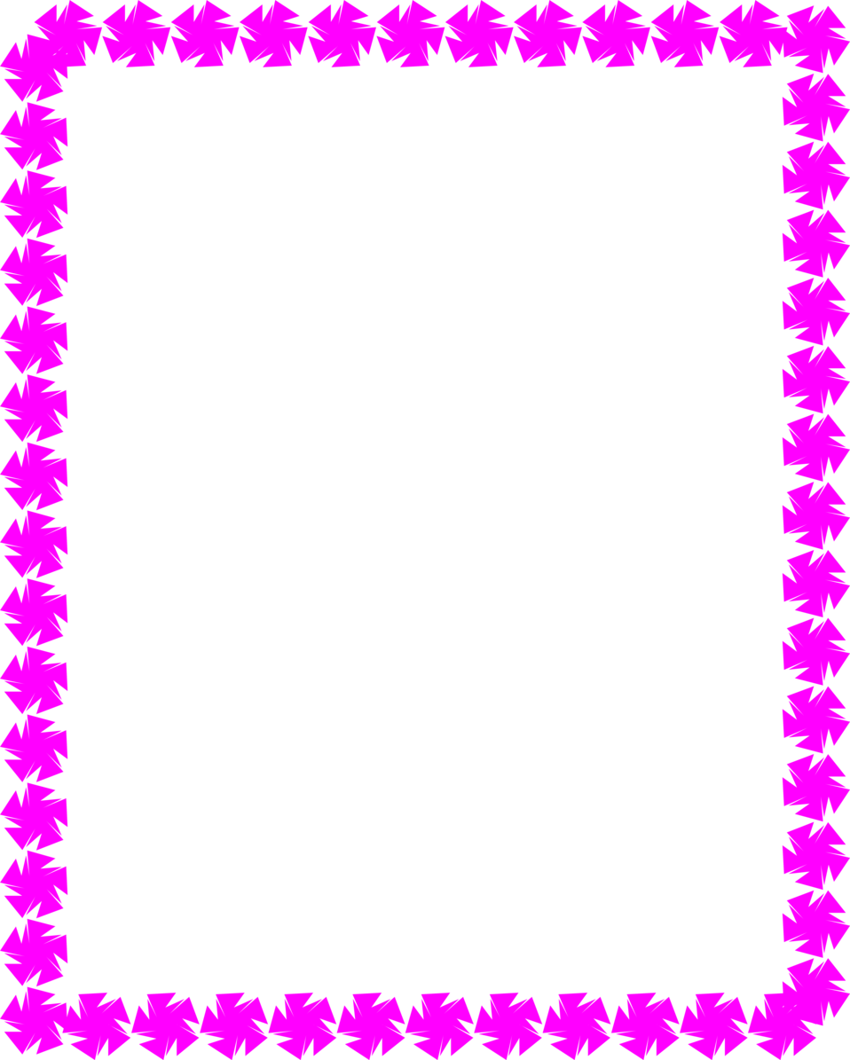 Star border clipart vector black and white Border Purple | Free Stock Photo | Illustration of a blank frame ... vector black and white