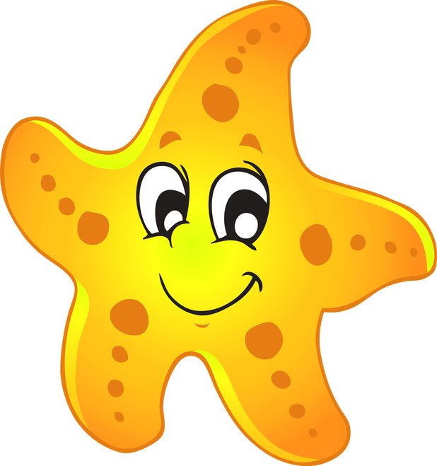 Clipart star fish svg Cartoon Starfish Png | Cartoonview.co svg