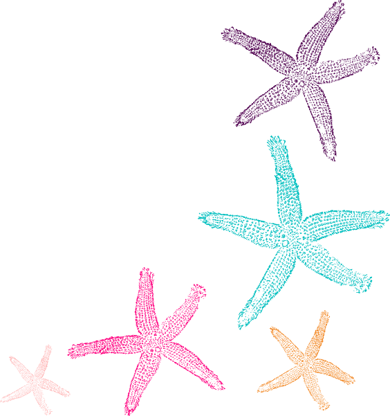 Watercolor star clipart graphic freeuse Starfish Prints 2 Clip Art at Clker.com - vector clip art online ... graphic freeuse