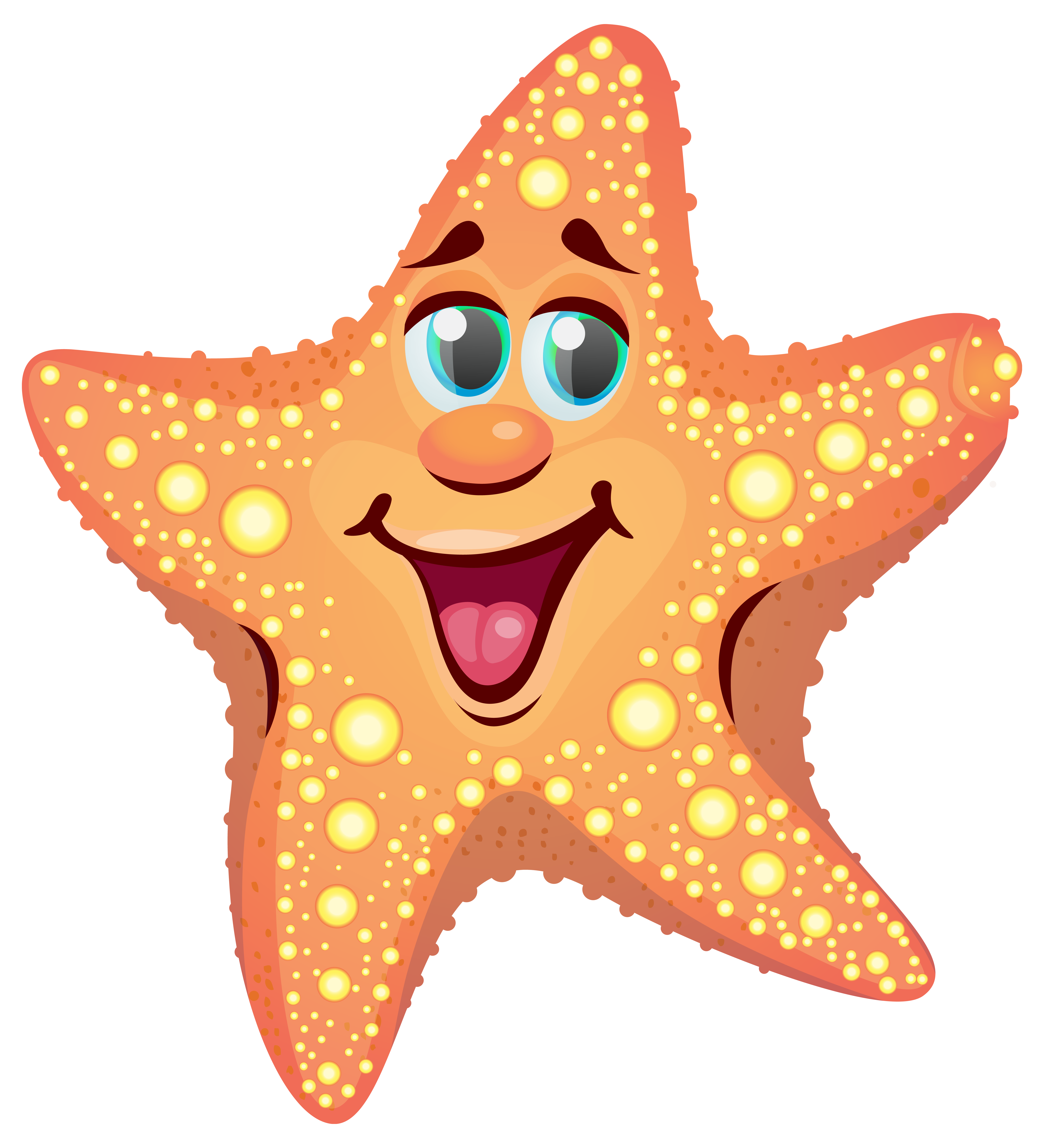 Clipart star fish clipart library Cartoon Starfish PNG Clipart Image | Gallery Yopriceville - High ... clipart library