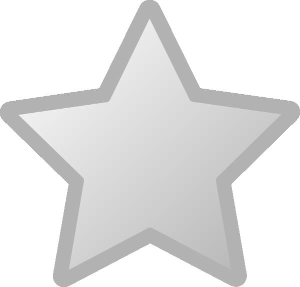 Star comet clipart png freeuse Star Grey Clip Art at Clker.com - vector clip art online, royalty ... png freeuse