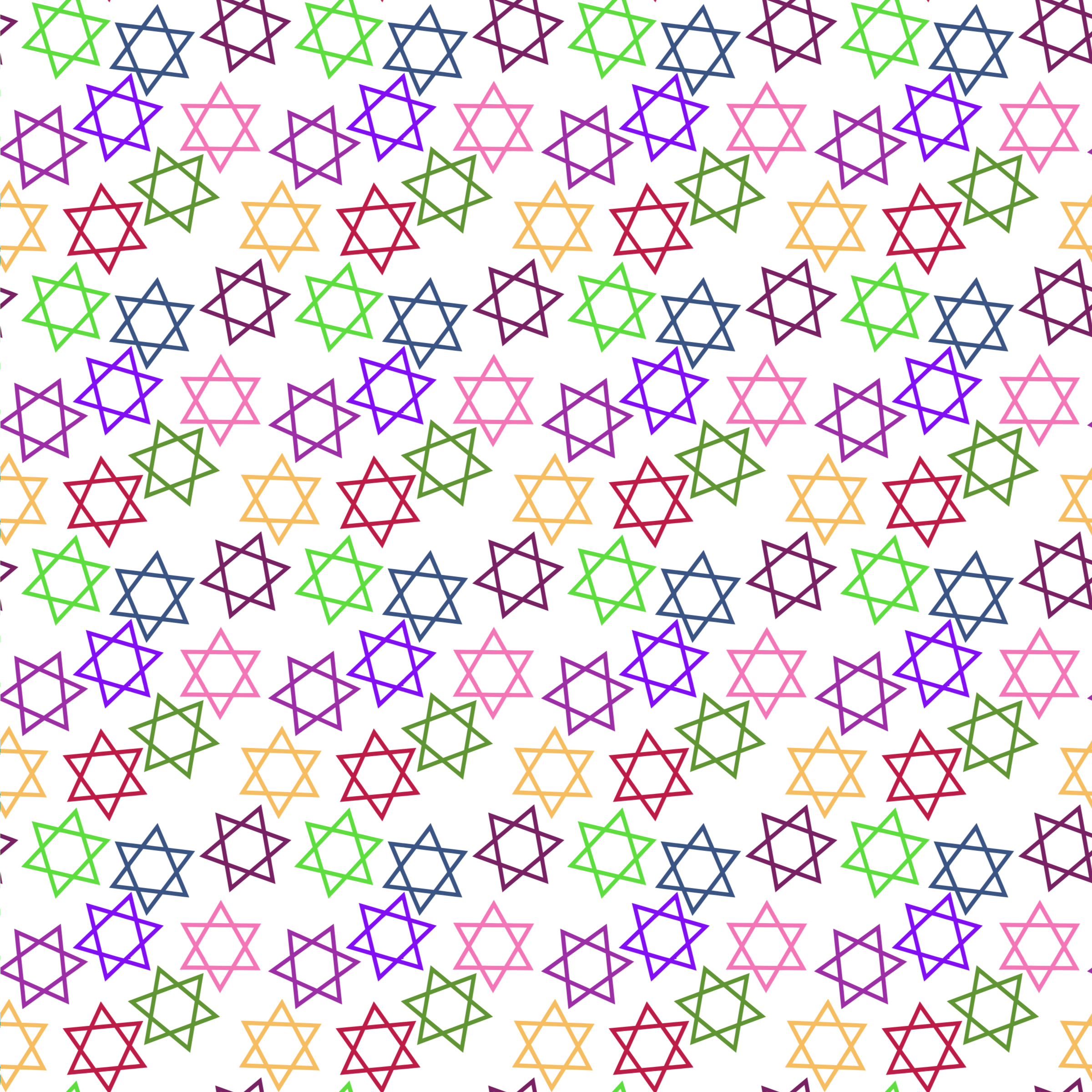 Star of david clipart images png free Clipart - Star of David Pattern png free