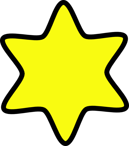 Yellow clipart star vector free download David Star Yellow Clip Art at Clker.com - vector clip art online ... vector free download