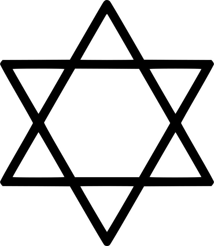 Jewish star of david clipart jpg library library Star of David Judaism Clip art - Jewish Holidays 854*980 transprent ... jpg library library