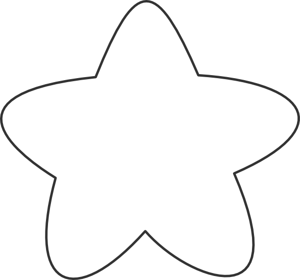 Clipart star outline banner royalty free library White Star Outline Clip Art at Clker.com - vector clip art online ... banner royalty free library