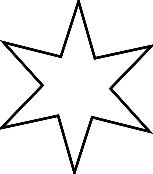 Star clipart large graphic royalty free stock Star Clip Art Outline Black And White | Clipart Panda - Free Clipart ... graphic royalty free stock