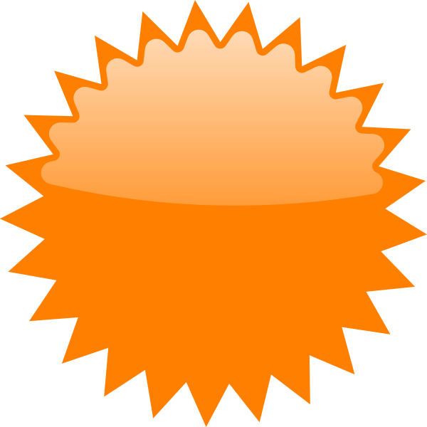 Orange star vector clipart clip transparent download Orange Star Price Tag Clip Art at Clker.com - vector clip art online ... clip transparent download