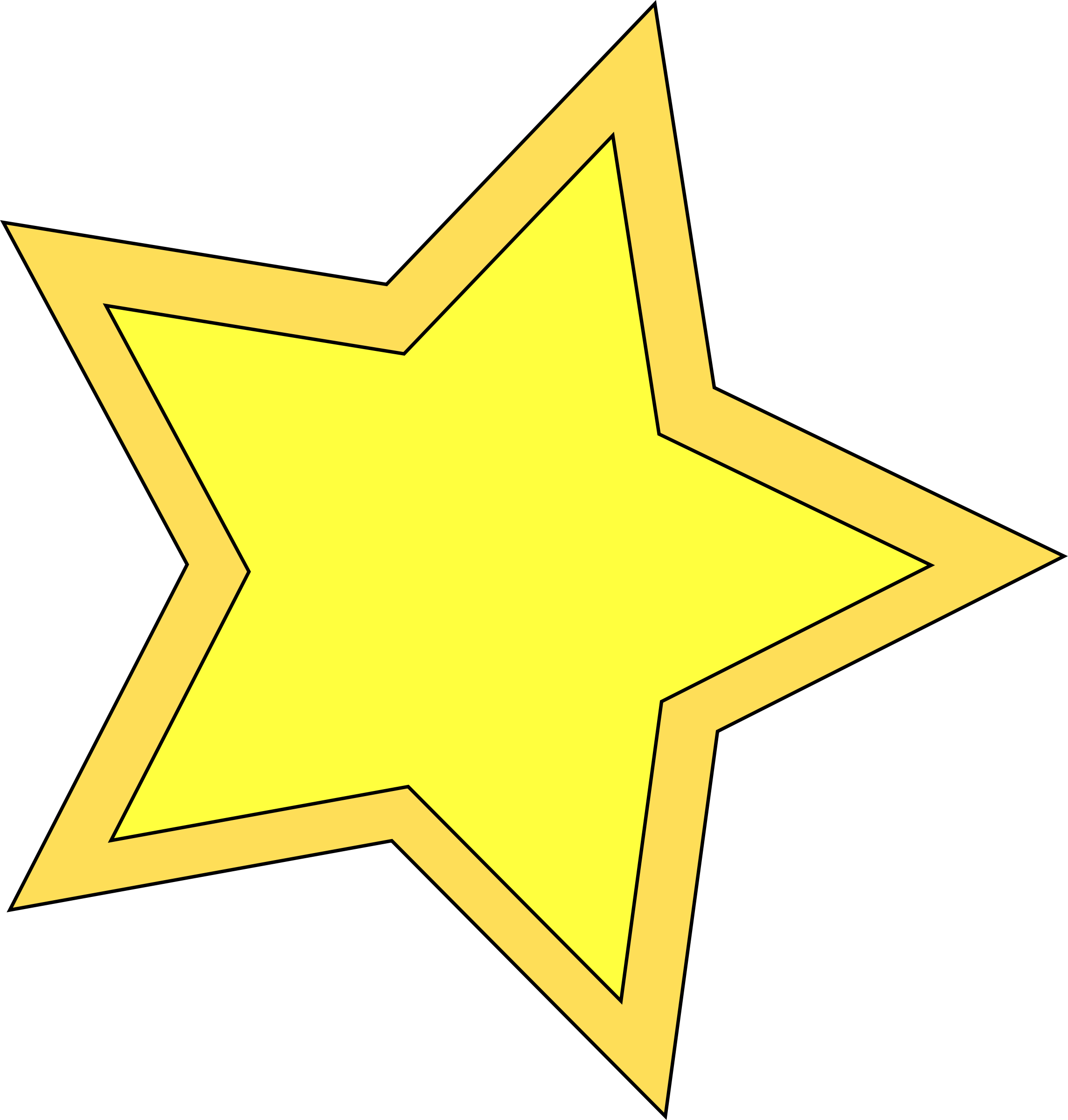 Yellow clipart star picture transparent download Clipart - double star picture transparent download
