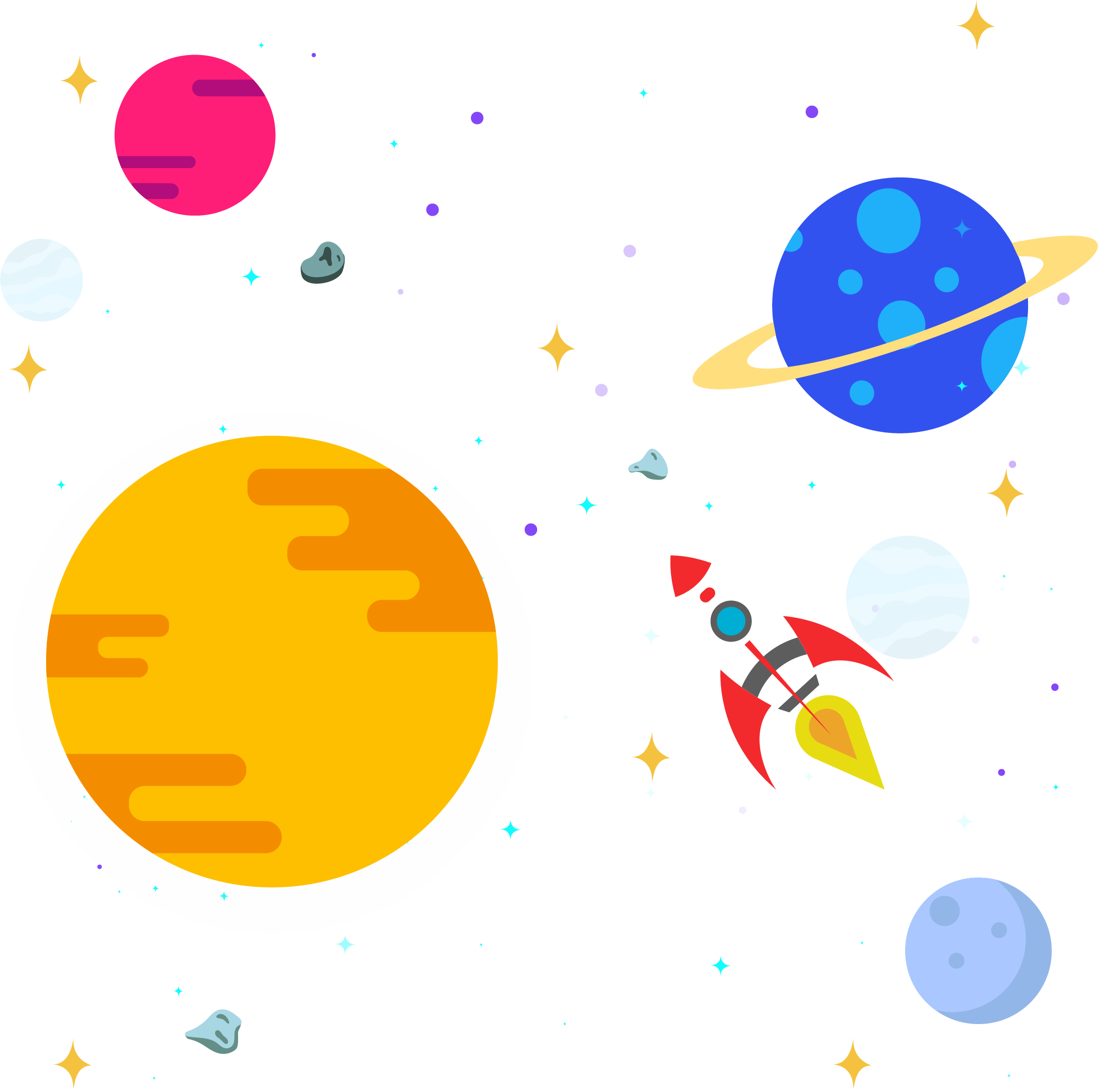 Star space clipart clip library Outer space Solar System Clip art - Space star rocket 2214*2202 ... clip library