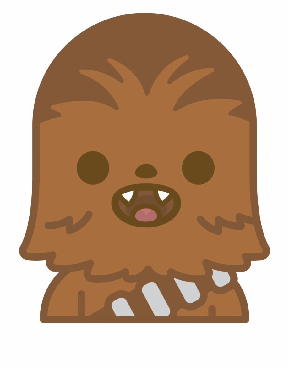 Star wars clipart collection clipart Star Wars Clipart Emoji Chewbacca Clipart - Kawaii Star Wars ... clipart