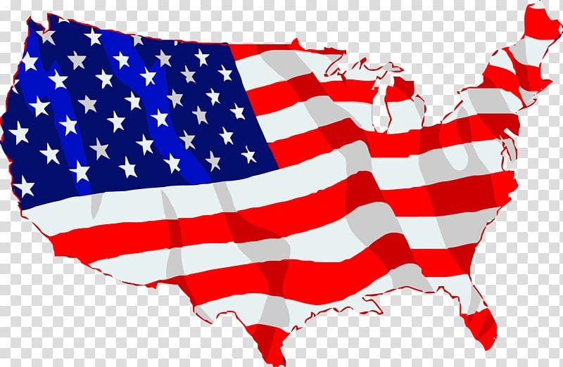 Clipart state vector black and white Flag of the United States State flag , America transparent ... vector black and white
