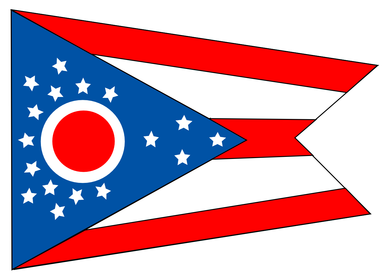 Clipart state flags banner royalty free download Ohio state flag clipart - Cliparting.com banner royalty free download
