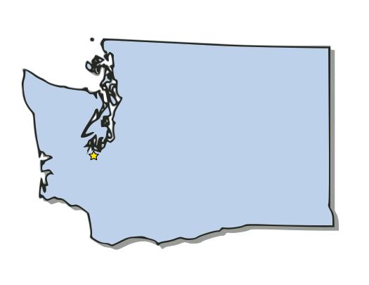 Clipart states outline svg transparent Washington State Outline Clipart - Clipart Kid svg transparent