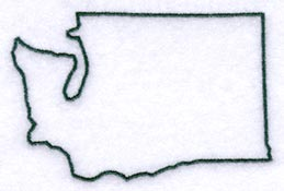 Clipart states outline png freeuse Washington State Outline Clipart - Clipart Kid png freeuse