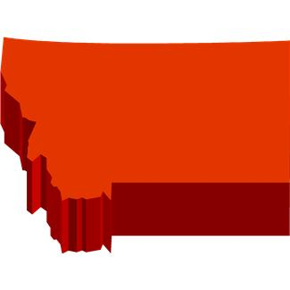 Clipart states outline montana banner black and white library Montana State Outline - ClipArt Best banner black and white library