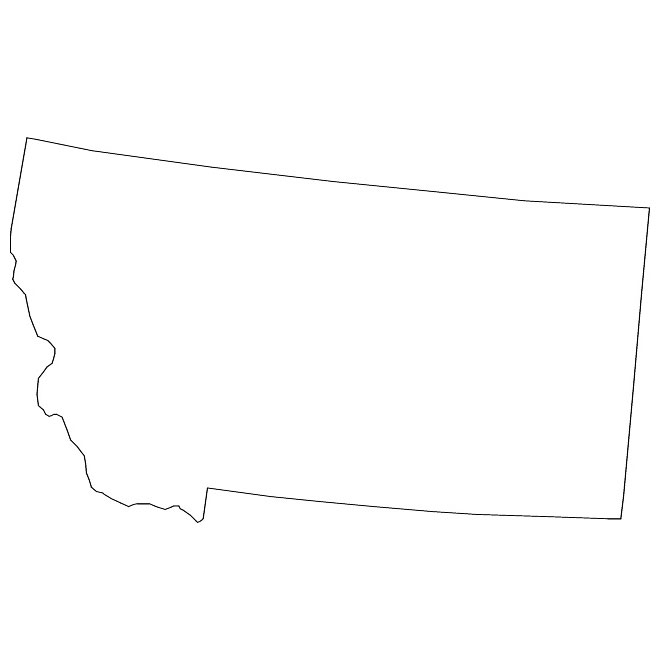 Clipart states outline montana svg freeuse stock MONTANA VECTOR MAP - Download at Vectorportal svg freeuse stock