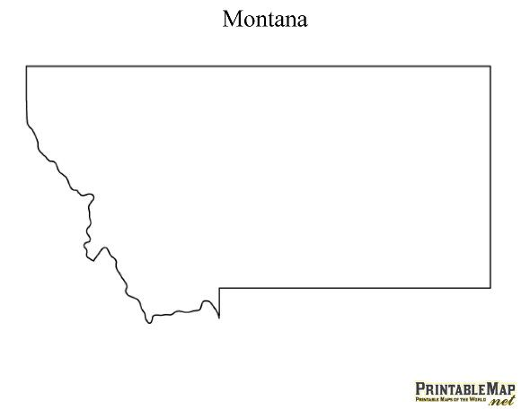 Clipart states outline montana clip stock 17 Best ideas about State Outline on Pinterest | Embroidery ... clip stock