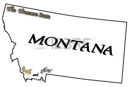 Clipart states outline montana svg library stock 271 Montana Outline Cliparts, Stock Vector And Royalty Free ... svg library stock