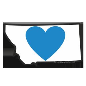 Clipart states outline montana transparent library Heart in Montana transparent library