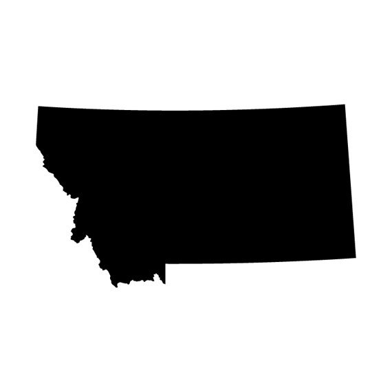 Clipart states outline montana image transparent Montana Outline - ClipArt Best image transparent