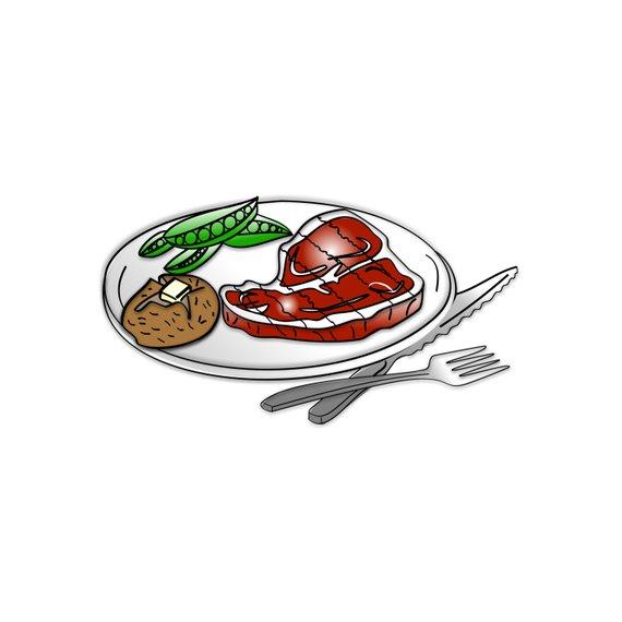 Clipart steak dinner clip free library Steak Dinner Clipart - Steak Dinner Clip Art, Dinner Clipart, Dinner ... clip free library
