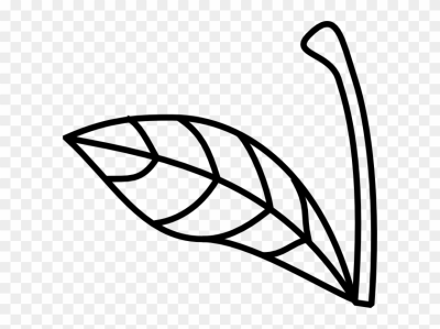 Clipart stem and leaf pattern black and white png transparent library Download Free png Wave Maker 5 - DLPNG.com png transparent library