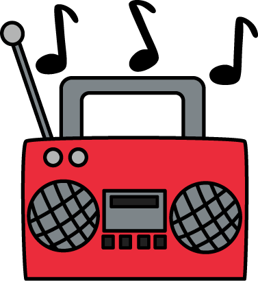 Radio Clipart | Free download best Radio Clipart on ClipArtMag.com svg black and white library