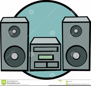 Clipart stereo image black and white stock Stereo Clipart | Free Images at Clker.com - vector clip art online ... image black and white stock