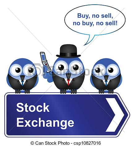 Clipart stock exchange clip transparent stock Vector Clip Art of stock exchange sign - Comical stock exchange ... clip transparent stock