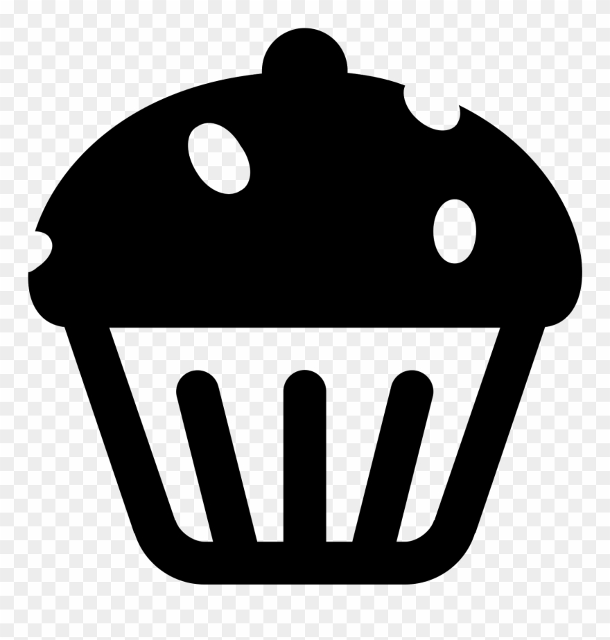 Clipart stock images free download image black and white stock Black And White Stock Icon Free Download Png - Cup Cake Icons ... image black and white stock