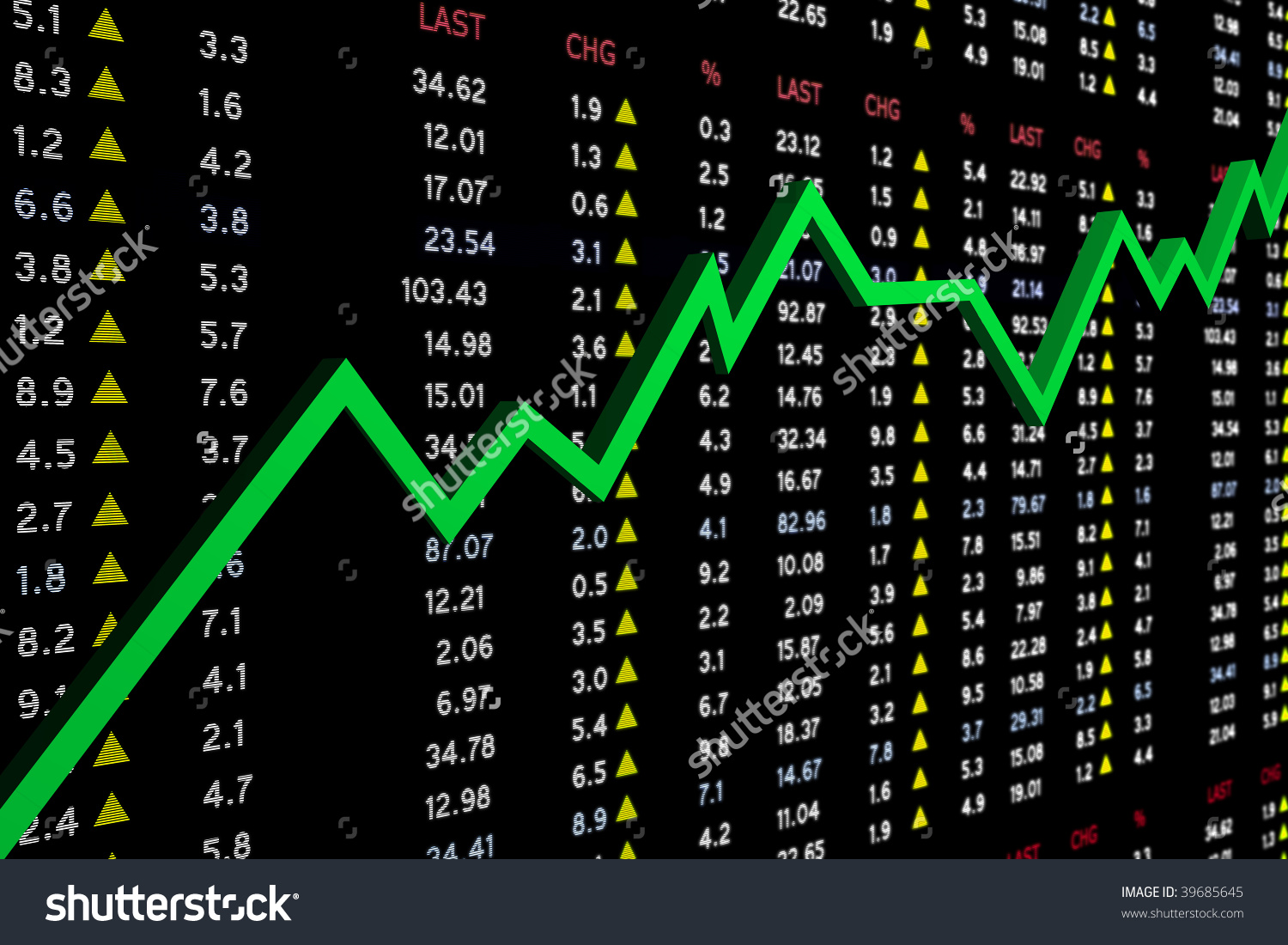Clipart stock market graph vector library High Resolution Stock Market Board Graph Stock Illustration ... vector library