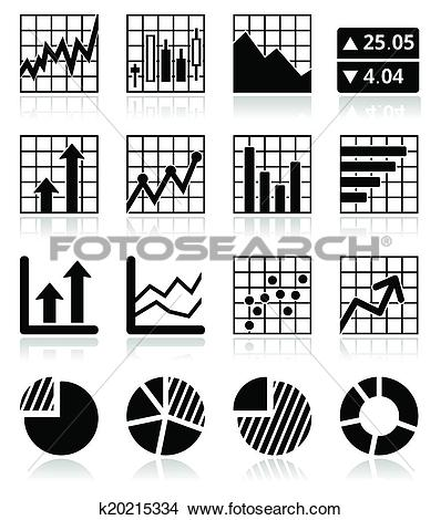 Clipart stock market graph svg transparent library Clipart of Stock market analysis, chart graphs k20215334 - Search ... svg transparent library