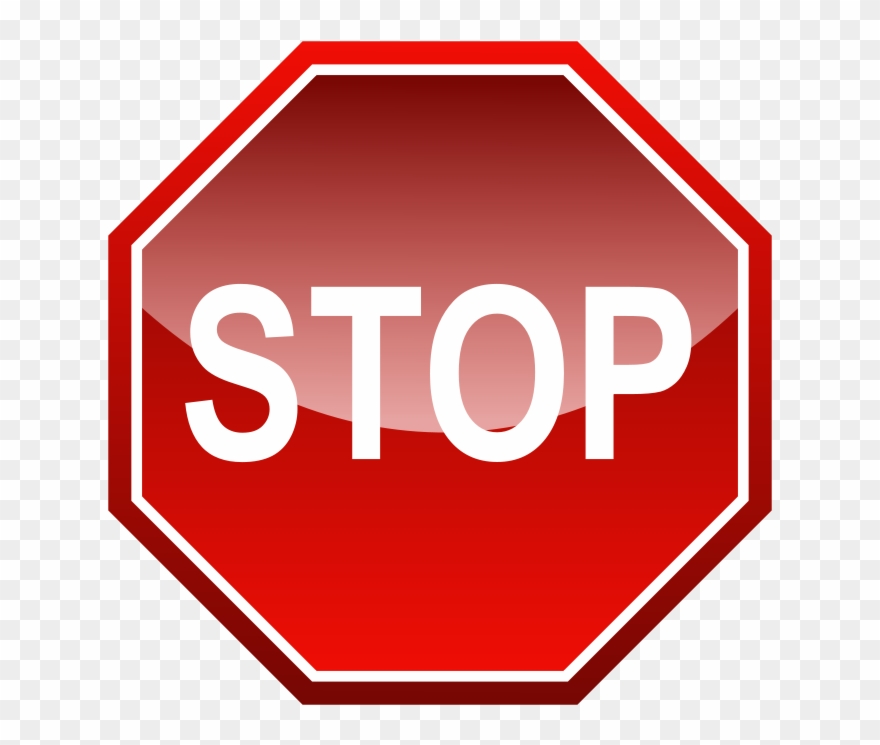Clipart stopsign graphic free stock Stop Signal Free Vector - Stop Sign Clipart (#136631) - PinClipart graphic free stock