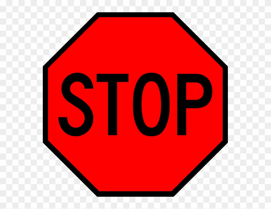 Clipart stopsign png library library Stop Sign Art 2, Buy Clip Art - No Parking Bus Stop - Png Download ... png library library