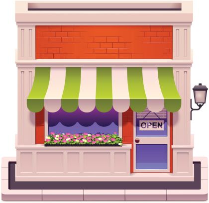 Clipart storefronts svg freeuse library storefront clipart - Google Search | Cute Clipart and Drawings ... svg freeuse library